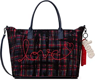 Luxury Fashion   Desigual Womens 19WAXA85BLUE Blue Tote   Fall Winter 19