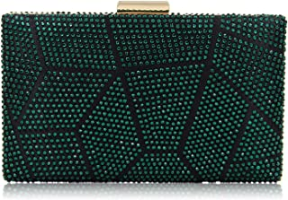 da94d9ea1febfb Yekajlin Clutches for Women Rhinestone Glitter Clutch Purse Evening Bag