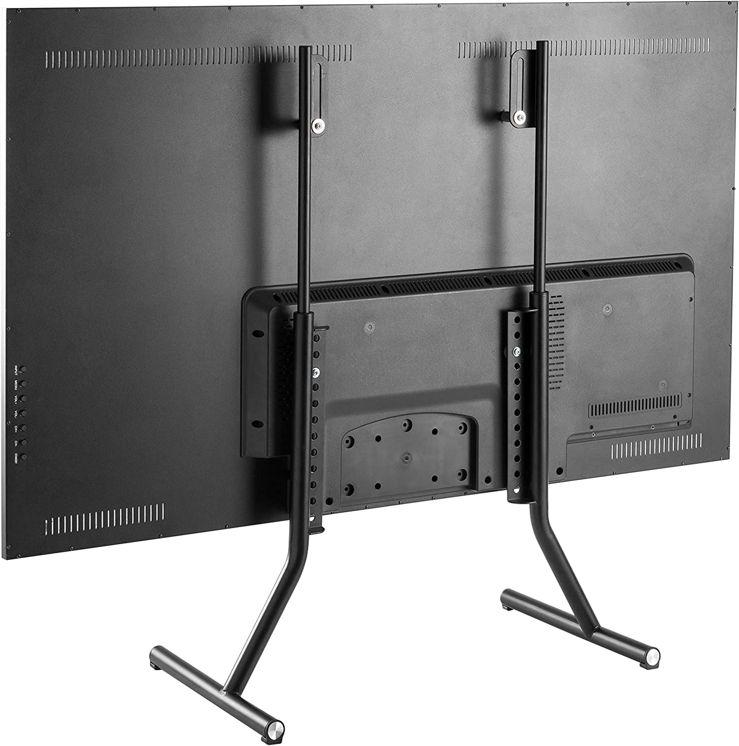 TechOrbits Universal TV Stand - Height Adjustable Table Top TV Legs Base for TVs 37-70