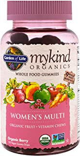 Garden of Life, Mykind Organics, Women's Multi, Organic Berry, 120 Gummy Drops