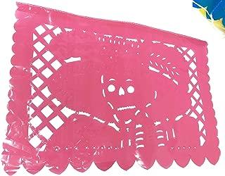 10 Día de Los Muertos Papel Picados Sheets Plastic 14 Feet Long Handmade in Mexico
