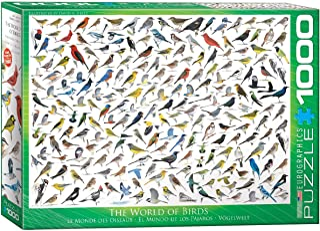 Eurographics 1000pcs - The World of Birds