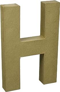 Darice 2861-H Paper Mache Letter 12Inx1.5In