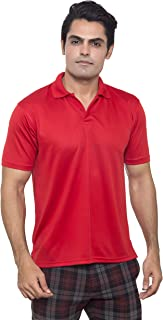 Sports Polo shirt for men I DryFit Moisture Wicking Fabric with UV Protection I Ideal for Gym Yoga Hiking Running etc.- By...