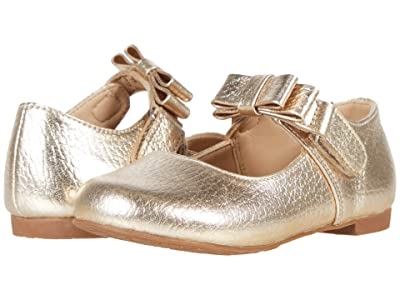 Elephantito Charlotte Mary Jane (Toddler/Little Kid) (Gold 1) Girls Shoes