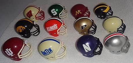Ncaa Pocket Pro Helmets, BIG TEN Conference Set, (2016) NEW