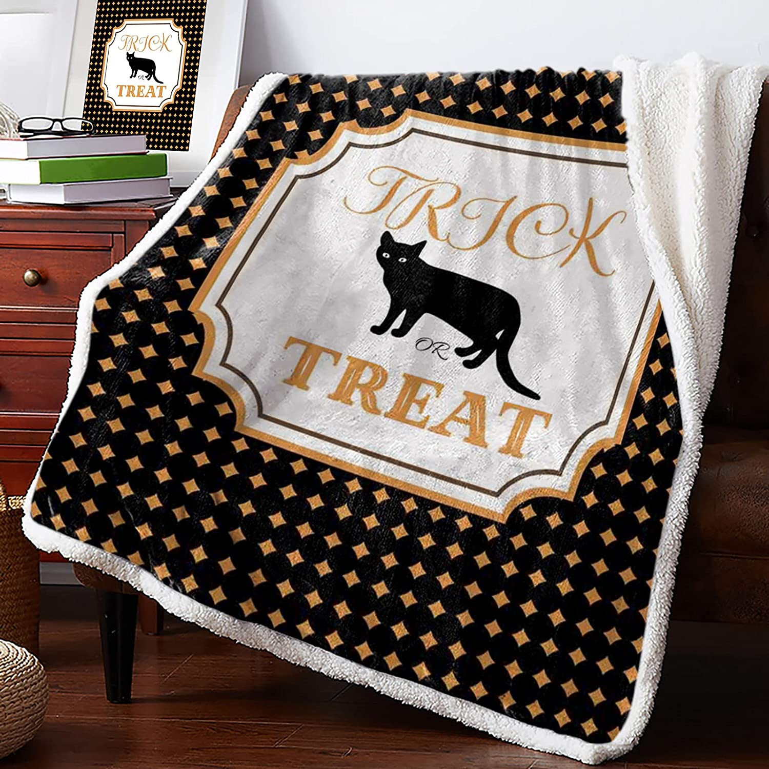 IDOWMAT 2021 spring and summer new Ranking TOP13 Sherpa Fleece Blanket 50x60 Fluffy in Plush Rev Soft