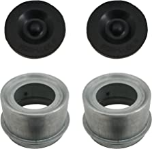 Rockwell American Posi-Lube Grease Cap Set - Fits Most 5,200 lb Axles - 2.44