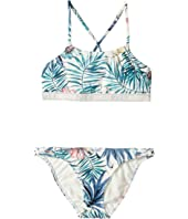 Roxy Kids - Blingbling Surf Crop Top Set (Big Kids)