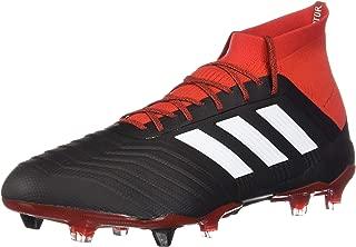 adidas Predator 18.1 Fg Black/White/Red Soccer Shoes (DB2039)