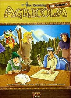 Agricola Gamers Deck / Goodies: Strategiespiel. Diese Box enthält mehrere englischsprachige Erweiterungen für den Agricola Fan. Gerade für diejenigen, die von dem preisgekrönten Spiel nicht genug bekommen können ist sie ein wahres Muss. Enthalten sind:  X-Deck, Ö-Deck, C-Deck, L-Deck sowie Sticker für die Bewohnermarker und die Meeple für die Tier, die Feldfrüchte und die Ressourcen