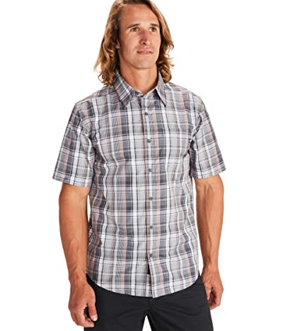 Marmot Lykken Short Sleeve Shirt (Sleet) Men