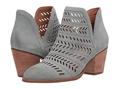 FRYE AND CO. Allister Feather Bootie (Pale Jade Suede) Women