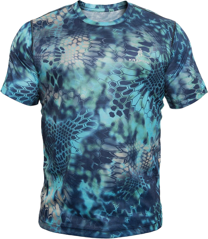 Kryptek Men's Hyperion TShirt Short Sleeve Polyester