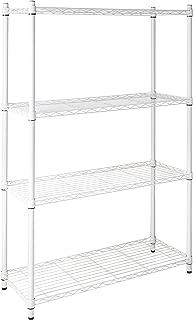 Best white thin shelving unit Reviews