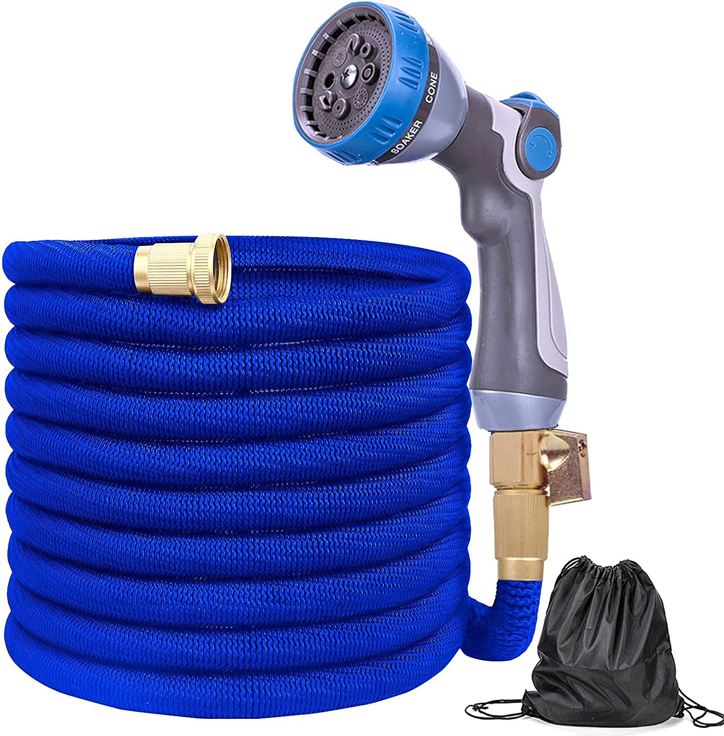 Flexible Garden Hose 75FT Expandable Water 3 4 Inch Max 47% OFF Manufacturer direct delivery S with