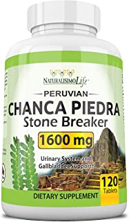 Sponsored Ad - Chanca Piedra 1600 mg - 120 Tablets Kidney Stone Crusher Gallbladder Support Peruvian Chanca Piedra Made in...
