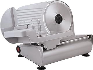 Silva-Homeline AS 520 - Affettatrice multiuso, 150 Watt, in metallo di alta qualità, lama universale in acciaio inox, rego...