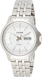 CITIZEN Mens Quartz Watch, Analog Display and Stainless Steel Strap - BF2011-51A