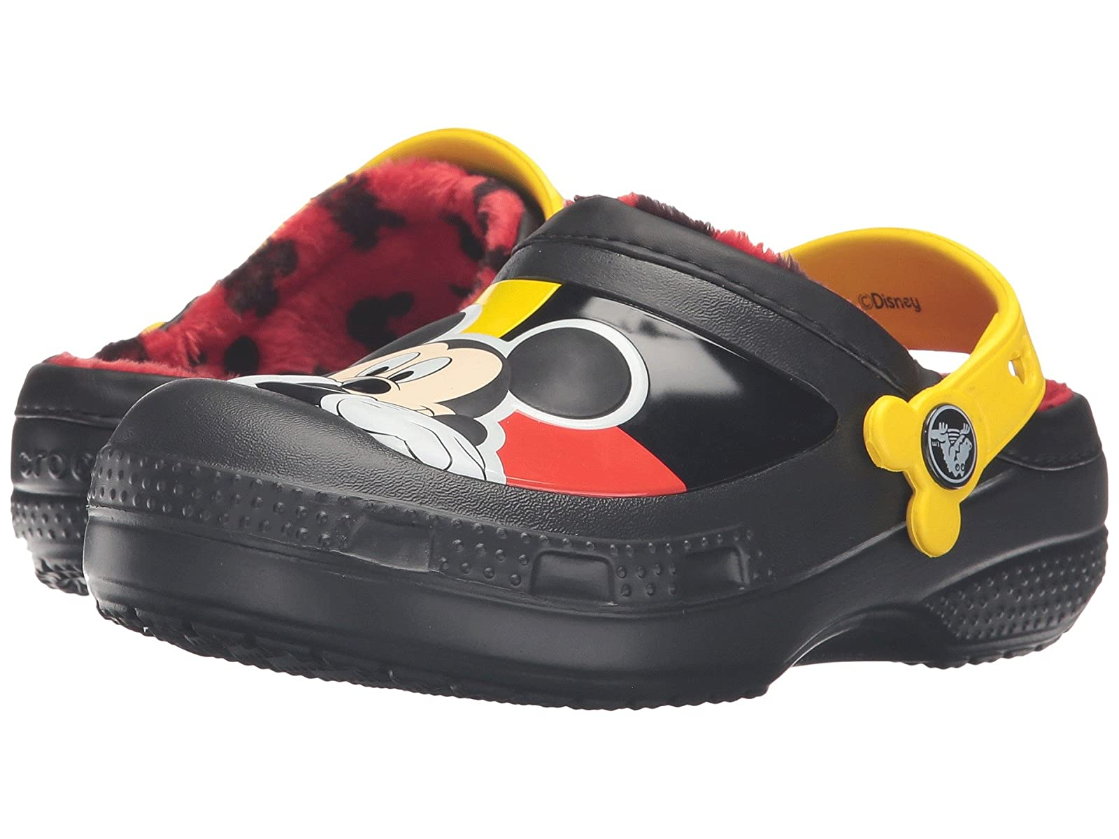 Crocs Kids CC Mickey Lined Kid) Clog (Toddler/Little Kid) Lined 4f1b9a