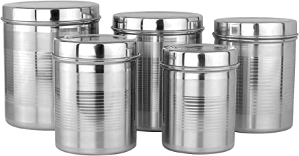 Amazon In Stainless Steel Jars Containers Kitchen