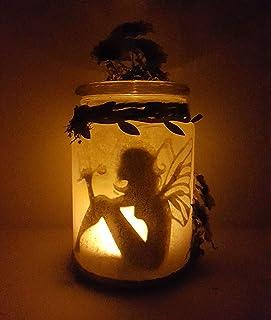 Lampada fiabesca a led ad effetto candela, luce rilassante ideale per ogni angolo della casa.