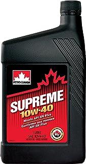 Petro Canada Supreme 10W 40 Premium konventionelles Pkw Motorenöl, 1 l