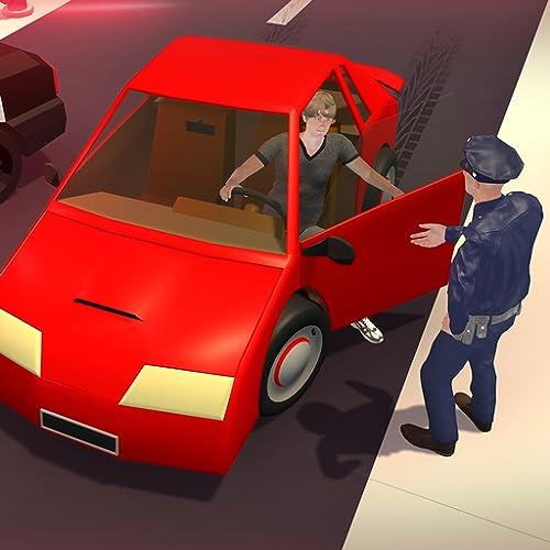 Simulador de carro de polícia de trânsito: jogos online grátis para policiais