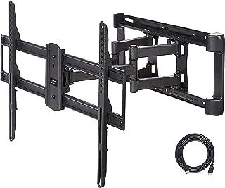 comprar comparacion AmazonBasics - Soporte para televisión de doble brazo y pleno movimiento - 38