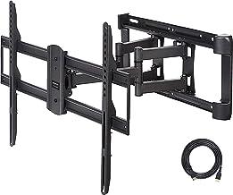 AmazonBasics Dual Arm Full Motion TV Mount - 37-Inch to 80-Inch