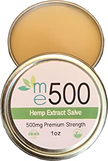 me500mg- ***New Reduced Price***Premium Relief Hemp Extract Topical Salve - Clients Use It for Pain - Inflammation - Neuro...