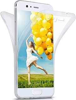 MoEx Funda Protectora 360º de Silicona Compatible con Huawei P10 | Transparente, Transparent
