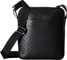 Emporio Armani - Eagle Embossed Messenger Bag