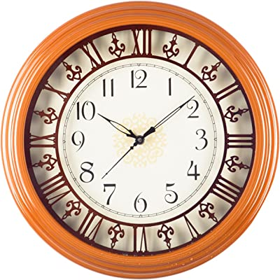 Buy Artshai Big 16 Inch Wall Clock Antique Vintage Look