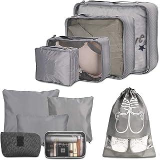 Organizador Maleta, Wokkol Packing Cube Organizador de Maletas Organizador de Equipaje Organizadores de Viaje Hogar, Almac...