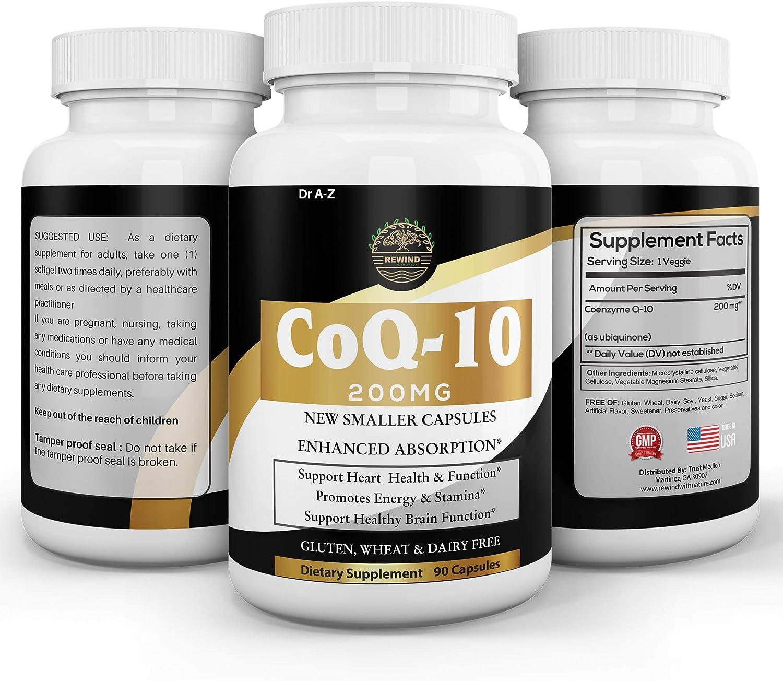Nature's Pure Co q 10 Supplement Veggie Ubi Coq10 Free Shipping Max 46% OFF Cheap Bargain Gift 200mg Capsules