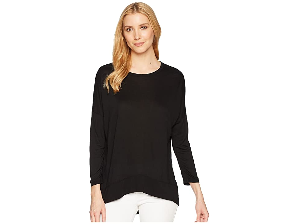 Three Dots Talia Top (Black) Women
