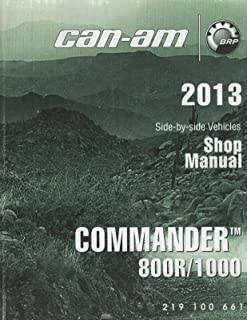 2013 CAN-AM ATV SIDE BY SIDE COMMANDER 800R/1000 SHOP/SERVICE MANUAL (753)