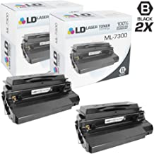 LD Remanufactured Toner Cartridge Replacement for Samsung ML-7300DA (Black, 2-Pack)