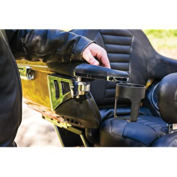 Kuryakyn 6770 Motorcycle Accessory Chrome 1 Pair Omni Padded Passenger Armrests for 2018-19 Honda Gold Wing Motorcycles