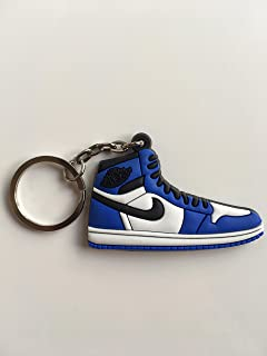 34bd28e5a80e31 Jordan Retro 1 OG Game Royal Sneaker Keychain Shoes Keyring AJ 23