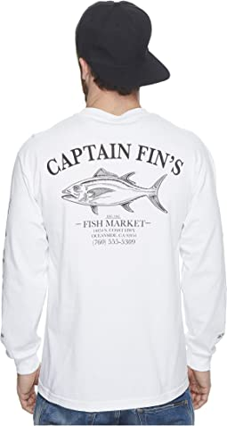 Captain Fin - Fish House Long Sleeve Tee