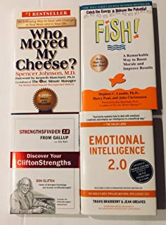 4 Books! 1) Who Moved My Cheese 2) Fish 3) Strengthsfinder 2.0 4) Emotional Intelligence 2.0,
