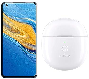 Vivo X50 (Frost Blue, 8GB RAM, 256 GB ROM) + Vivo TWS NEO Earphones (Moonlight White)