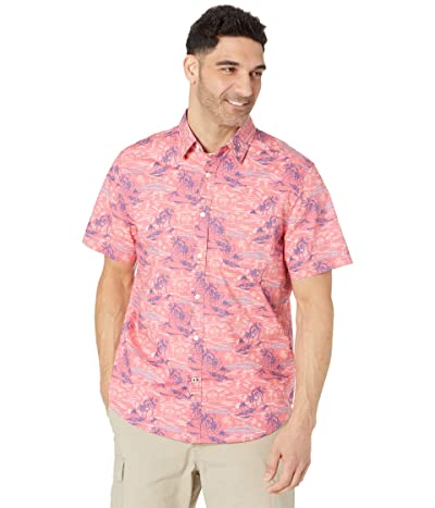 Nautica Classic Fit Island Print Shirt