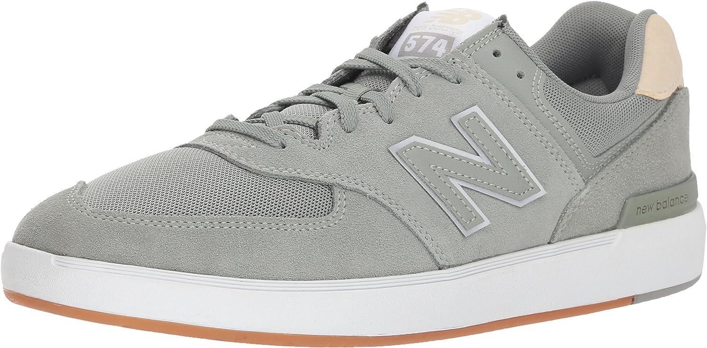 Amazon.com | New Balance Men's 574v1 All Coast Skate Shoe ...