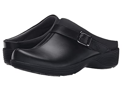 Dansko Carnation (Black Leather) Women