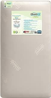 Beautyrest Recharge Hybrid Breeze Innerspring/Foam Crib and Toddler Mattress | Waterproof | GREENGUARD Gold Certified (Natural/Non-Toxic)