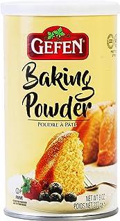 Gefen Baking Powder, 8oz Resealable Container, Gluten Free, Aluminum Free, Cornstarch Free