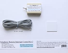 2-LINE On/Off Switch for Any Telephone Device Connected to a 2-line RJ-11 Phone Jack. The Telephone Remote Interrupt Control Kit 2. The Trick 2